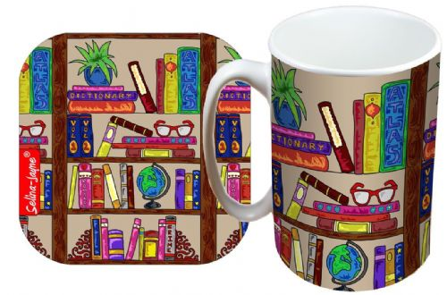 Selina-Jayne Books Limited Edition Designer Mug and Coaster Gift Set